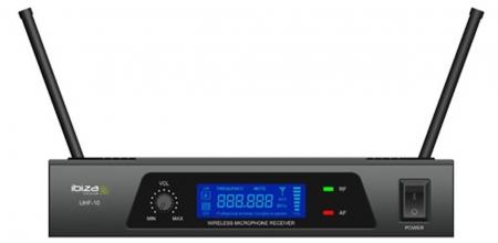 SISTEMA MICROFONICO 1CH UHF 15-3026b - UHF10b IBIZA