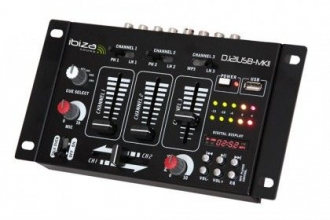 Mixer 4 Canali 7 Input USB  DJ21USB-MKII - Distributore di Segnale & Amplificatore - Audio Video
