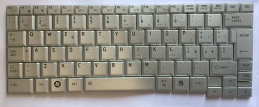 TASTIERA Notebook QWERTY Originale ITALIANA compatibile con Toshiba R500 HMB3311TSC03 G83C000903IT