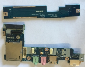 Acer One D260 Modulo Porte Audio Usb Lan Ethernet RJ45 LS-5655P 455N94BOL01F2 + LS-565AP