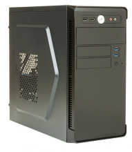 Case RIVER  Mini Tower mATX 500W 2x USB3 Full Black