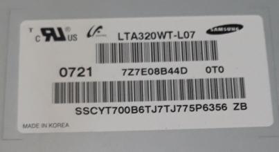 DISPLAY LCD LG LE32R86BD LTA320WT-L07 USATO