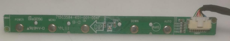 A6CGV- MAINBOARD MONITOR LED FUJITSU L20T-3 715G3834-M02-000-004K USATO