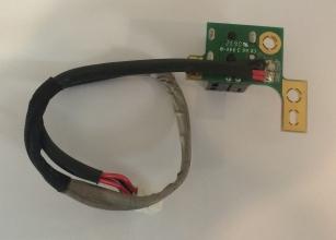 Connettore spinotto Alimentazione Dc Jack + Cavo Per HP DV9000 DV9100 DV9200