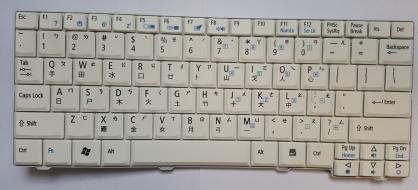 Tastiera Acer Aspire serie One ZG5 Originale