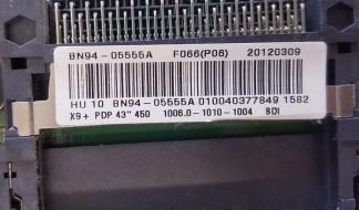 A1S - MAINBOARD SCHEDA MADRE BN94-05555A PS43E450A1WXZT SAMSUNG