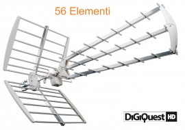 V- ANTENNA TERRESTRE DIGIQuest  UHF56 HD LTE INTEGRATO