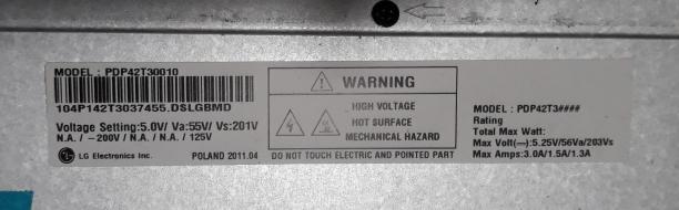 DISPLAY LCD PHILIPS 32PFL5604H/12 VN4F1015475283 USATO