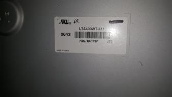 DISPLAY LCD LTA400WT-L11 USATO