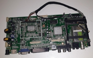 D2- MAIN BOARD MOTHERBOARD SCHEDA MADRE DIKOM LCDTV-M24 HK-7050-CI-V4.1-B USATO