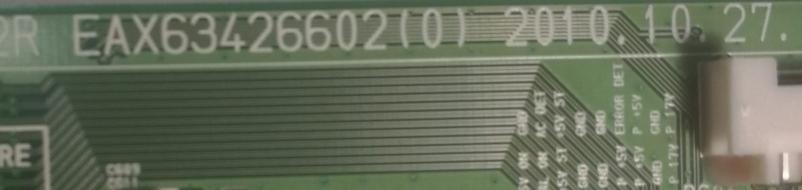 D2- MAINBOARD LG 50PW450A EAX63426602 USATO