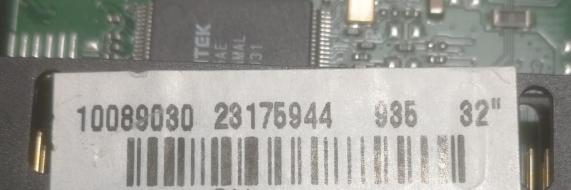 A6CGV- MAINBOARD NEO LED32165DL 23176944 23167985 USATO