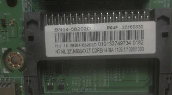 D1- MAIN BOARD BN94-08202D SAMSUNG UE32J4000AKXZT USATO